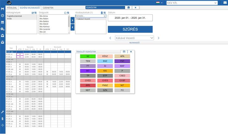 Képernyőkép-online-munkaidő-nyilvántartó-rendszer